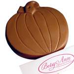 Pumpkin Lollipop, Milk Chocolate (1.5oz) THUMBNAIL