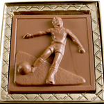 Soccer Mold - Milk Chocolate (4.25oz) THUMBNAIL