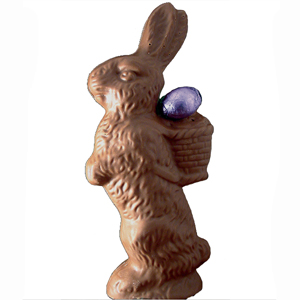 Standing Bunny - Milk Chocolate (13oz) MAIN