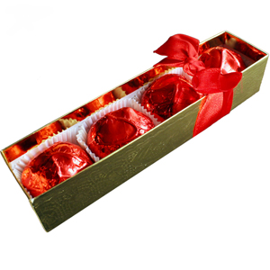 Valentine Cordial Strawberries - Red Foil (8oz)_MAIN