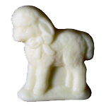 White Chocolate Lamb (1oz)