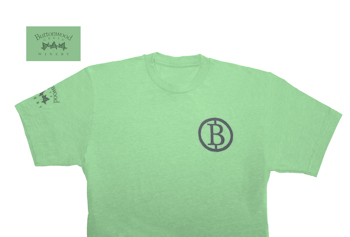 "Buttonwood T shirt - ""B"" logo"