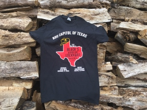 BBQ Capitol of Texas T-shirt MAIN