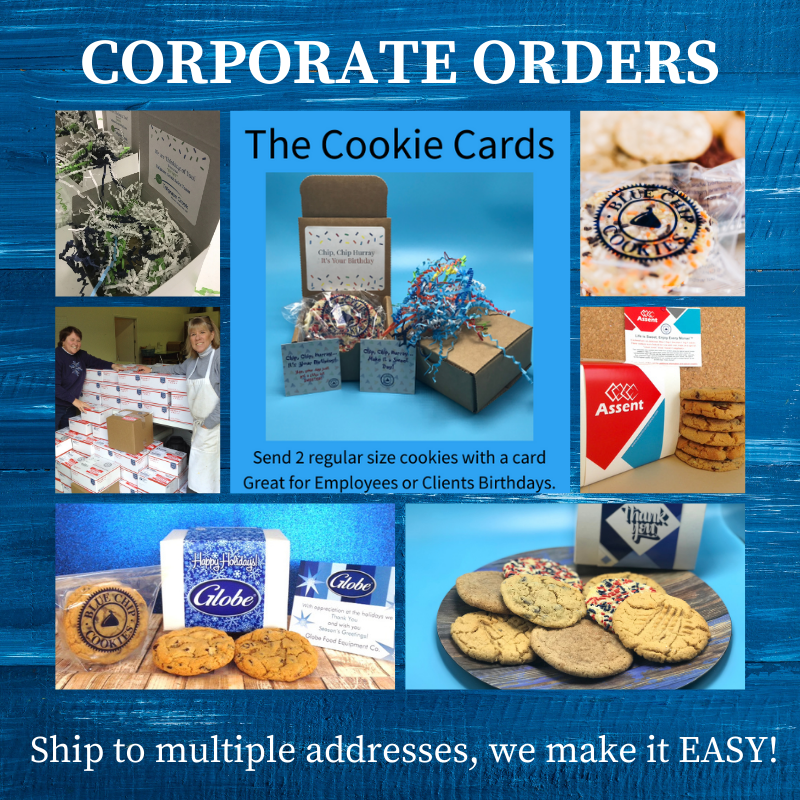 Business Cookie Gifts, Holiday Corporate Cookie Gifts, Customized Cookie Boxes