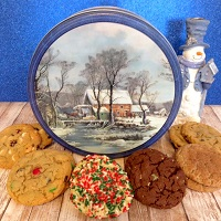 MyWay Holiday Cookie Tin (Create it-14 Cookies)