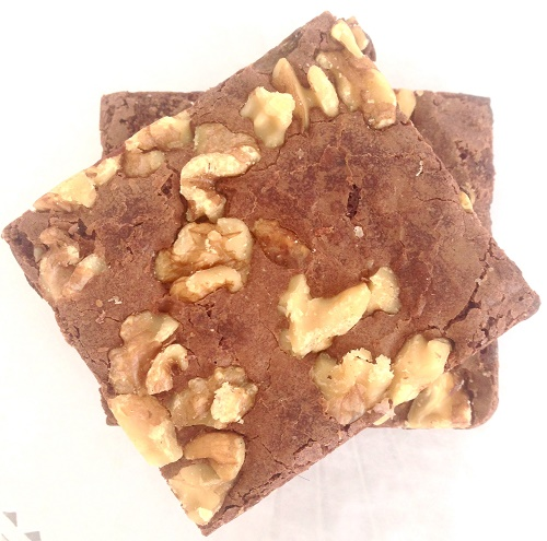 Walnut Chocolate Brownie Bar (GF)