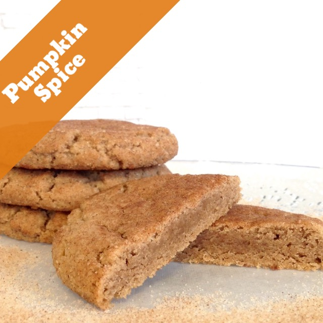 Pumpkin Spice Delight (14 Cookies)