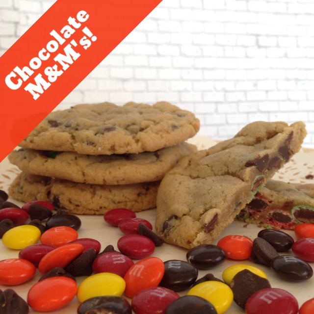 Chocolate Chip M&M (14 Cookies) THUMBNAIL