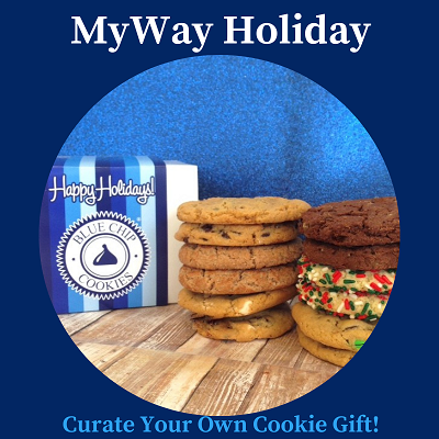 MyWay Holiday Box (12 Cookies) LARGE