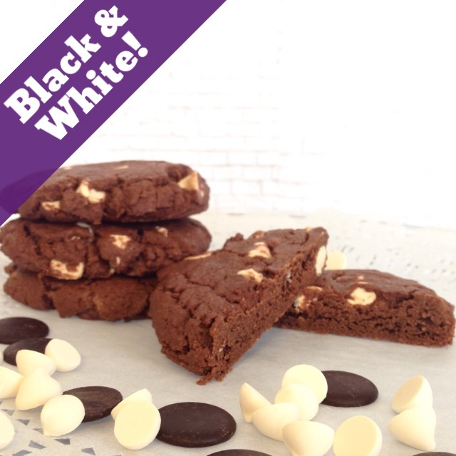 Black and White Cookies THUMBNAIL