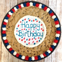Happy Birthday Cookie Cakes Shipped