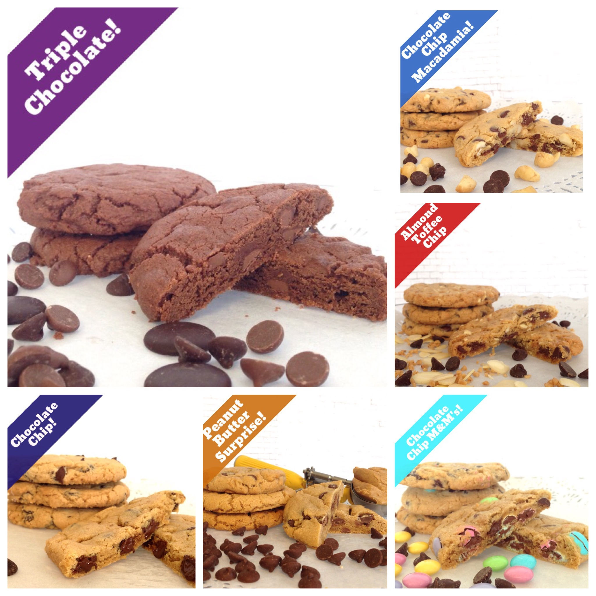 Chocolate Chip Lover's Collection (14 Cookies)