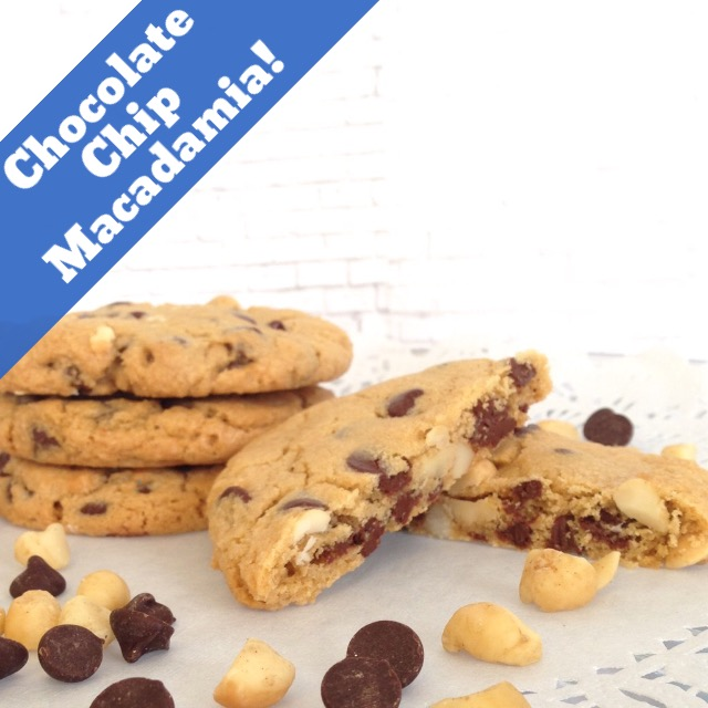 Chocolate Chip Macadamia Gourmet Cookies THUMBNAIL