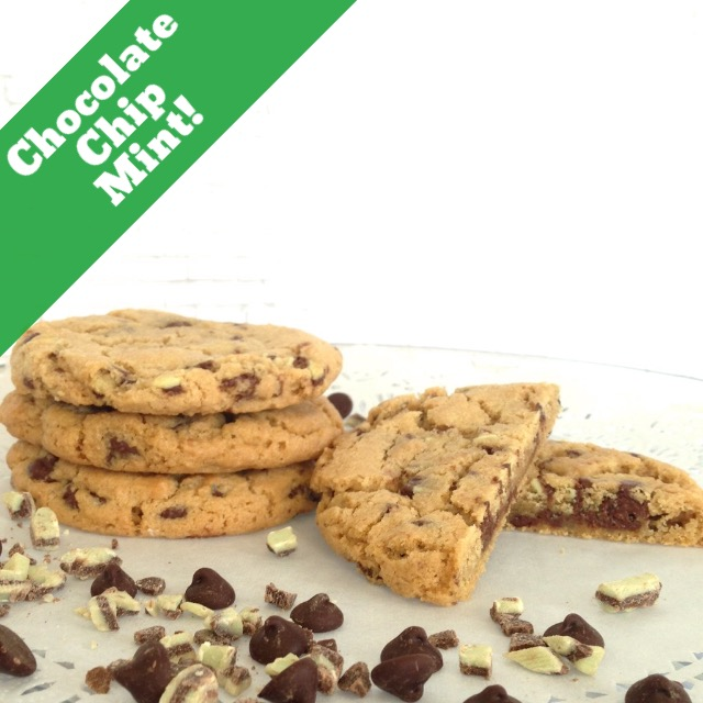 Chocolate Chip Mint (14 Cookies)