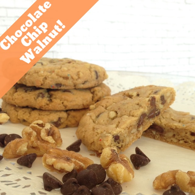 Chocolate Chip Walnut- (14 Cookies)