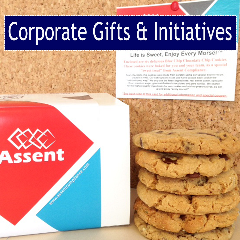 Business Cookie Gifts, Holiday Corporate Cookie Gifts, Corporate Cookies for Marketing