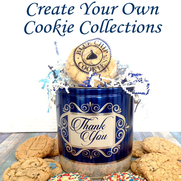 Create Your Own Gourmet Cookie Assortment from over 25 gourmet cookie flavors