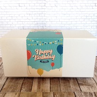 Birthday MyWay Box or Tin (12-14 Cookies)