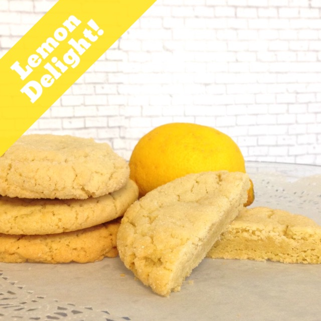 Lemon Delight Cookies (14 Cookies)