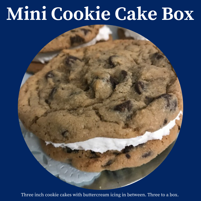 Mini Cookie Cakes, 3 inches in diameter THUMBNAIL
