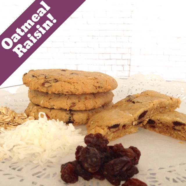 oatmeal raisin cookie LARGE