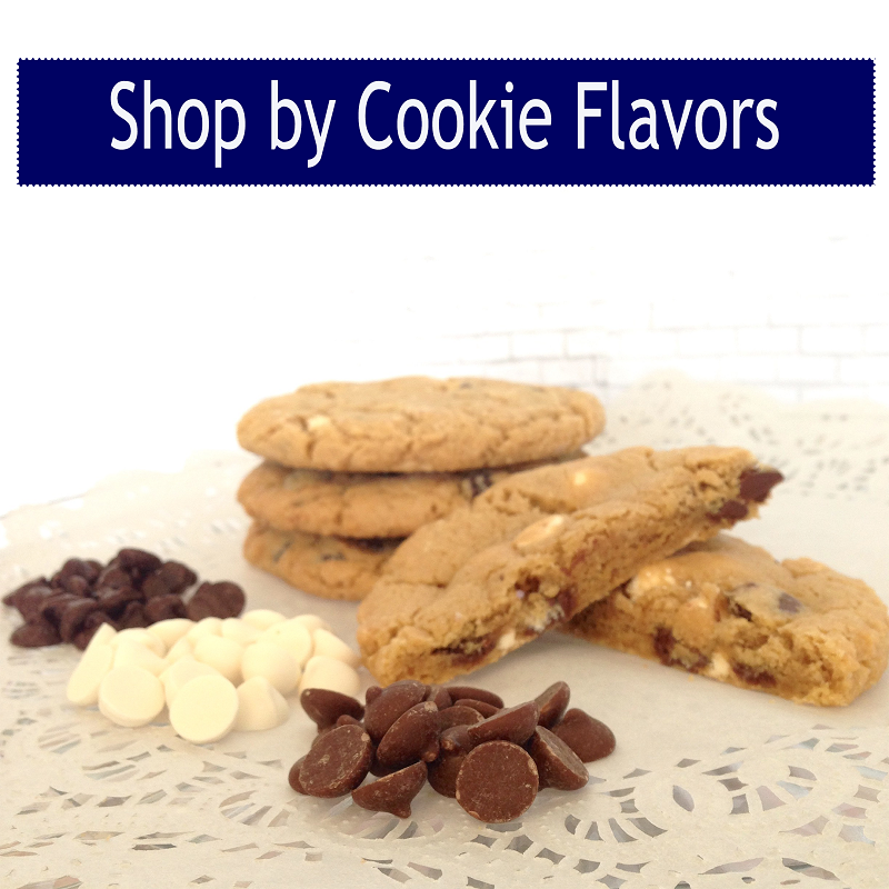 Over 35 different gourmet cookie flavors to choose from!