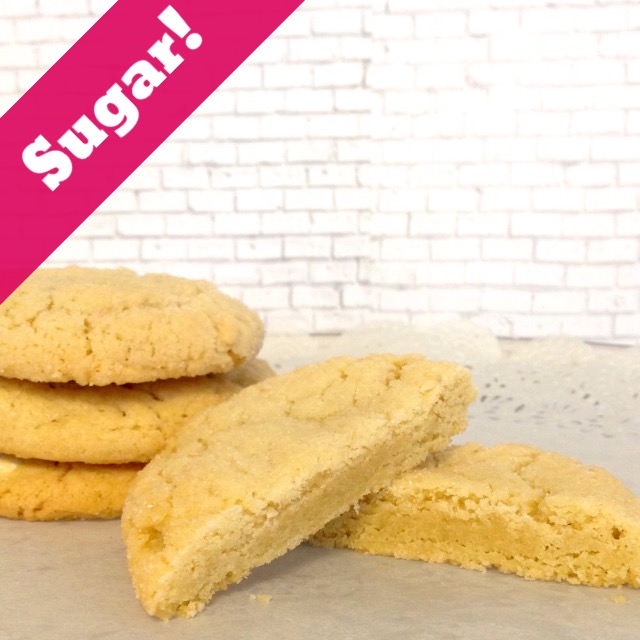 Sugar Cookies-Plain (14 Cookies)