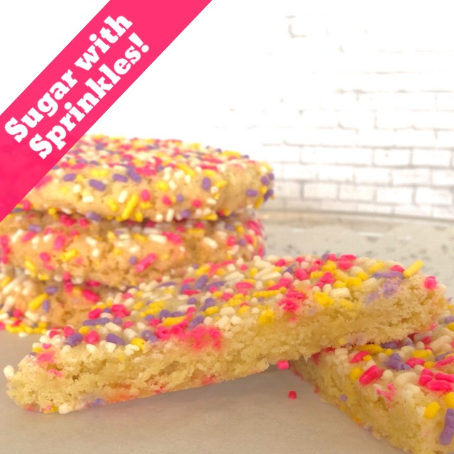 Sugar Seasonal Sprinkles (14 Cookies)