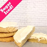 Sugar with Buttercream Icing (12 Cookies) LARGE