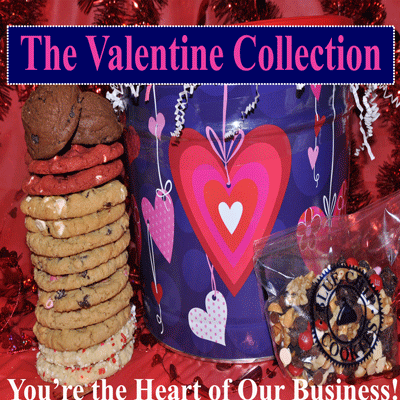 Best Valentine's Day Gourmet Cookies Online and Delivered, Blue Chip Cookies