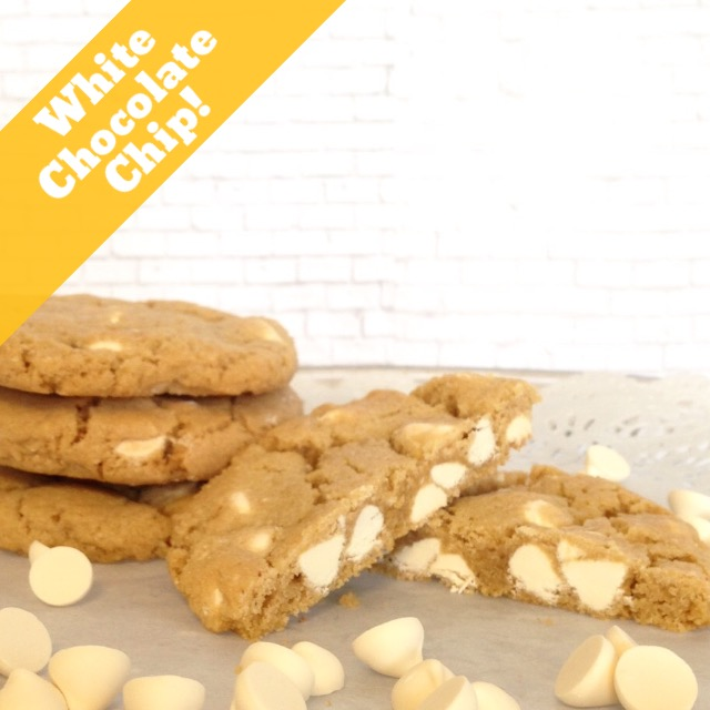 White Chocolate Chip Cookie LARGE
