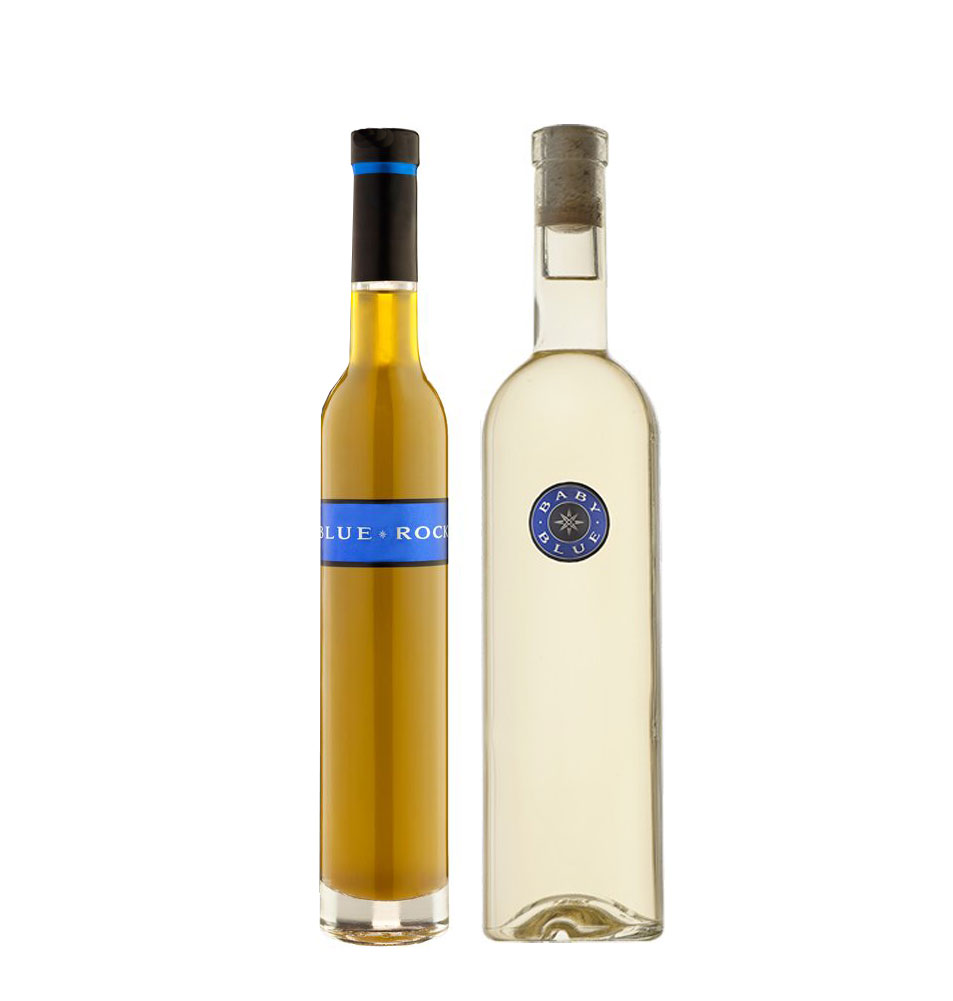 Gift Baby Blue Blanc & Olive Oil in Tissue