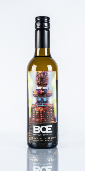 2013 BOE Social Club White 1/2 Bottle