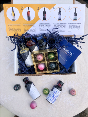 CW Tasting Kits + Bluebird Chocolates: April 2021 - Pick Up MAIN