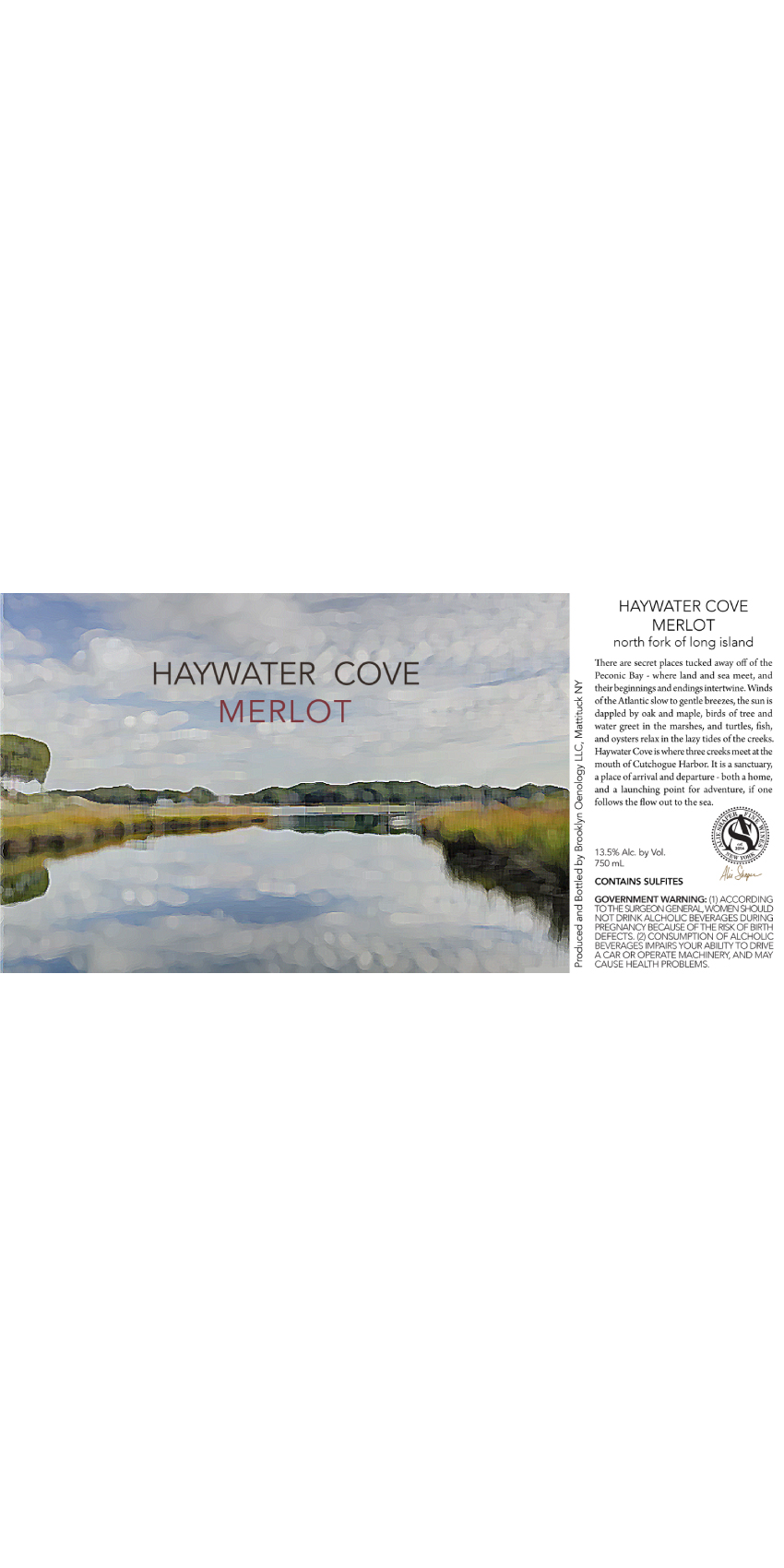 NV BOE Haywater Cove Merlot Mini-Thumbnail