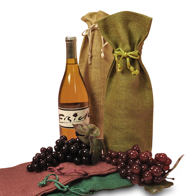 Jute Bottle Bag MAIN