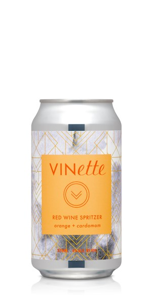 VINette Red Orange Cardamom Spritzer 4PK LARGE