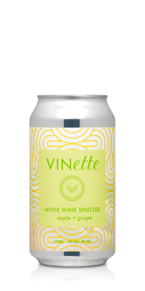 VINette Apple Ginger Wine Spritzer 4PK THUMBNAIL