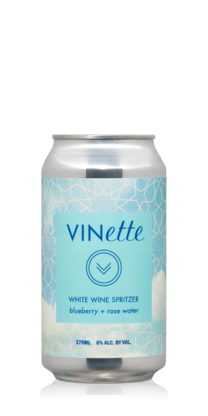 VINette Blueberry Rosewater Spritzer 4PK LARGE