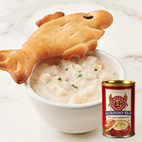 SR Fish Bread & Clam Chowder #315