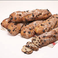 Chocolate Raisin Sourdough Baguettes(6)  #895