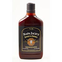"New!! Napa Jack""s Sweet & Smoky BBQ Sauce A#61568 MAIN"