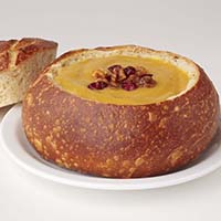 Butternut Squash Soup & SD Bread Bowls #230