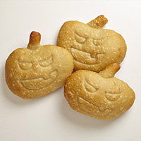 Sourdough Jack-O'-Lantern Rolls #749