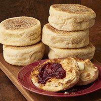 Boudin Sourdough English Muffins (6) #885 THUMBNAIL