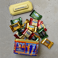 Ghirardelli Cable Car Tin #A60778