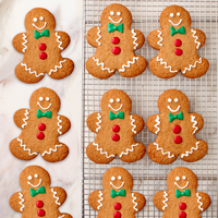 NEW! Gingerbread Cookies (12) #581 THUMBNAIL