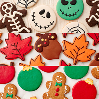 New!! Holiday 3 Month Cookie Club (12) #999 THUMBNAIL