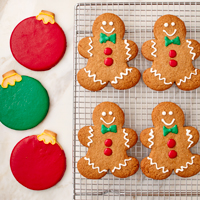 NEW! Holiday Iced Cookies (12) #995 THUMBNAIL
