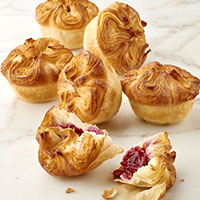 NEW! Raspberry Kouign-Amann (4)  #617